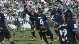 Las imágenes del Betis-Alavés