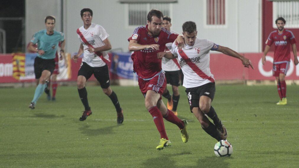Las imágenes del Sevilla Atlético-Zaragoza