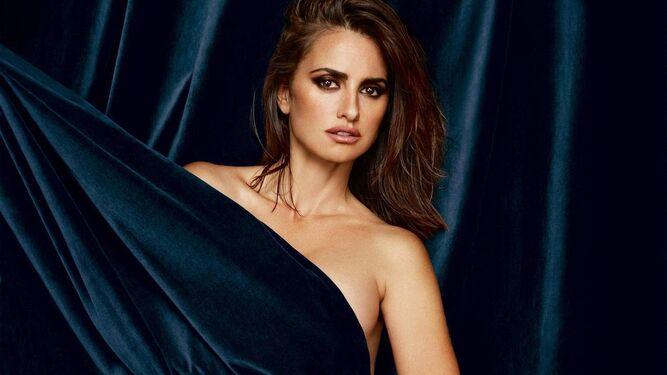 La actriz, en la portada de la revista británica 'Esquire'.
