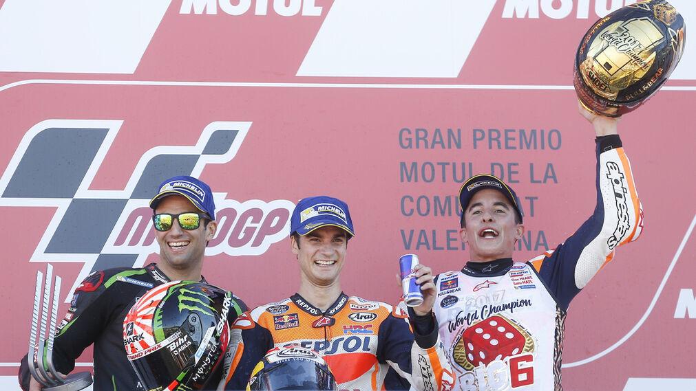 Las imágenes del GP de la Comunidad Valenciana de Motociclismo