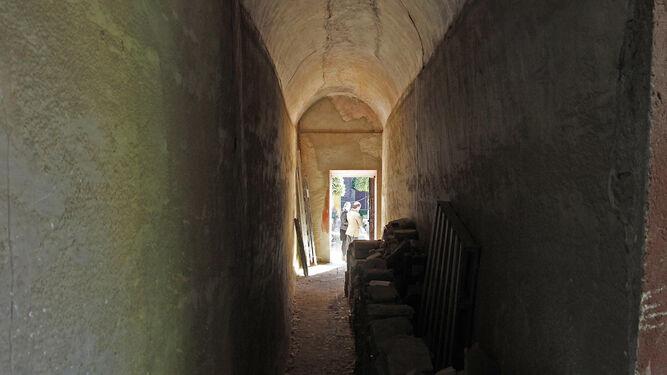 Vista desde el interior del túnel