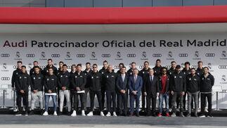 Los nuevos coches de la plantilla del Real Madrid, foto a foto