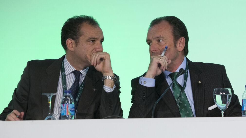 Las imágenes de la junta de accionistas del Betis