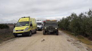 Los servicios de emergencias actúan en la zona