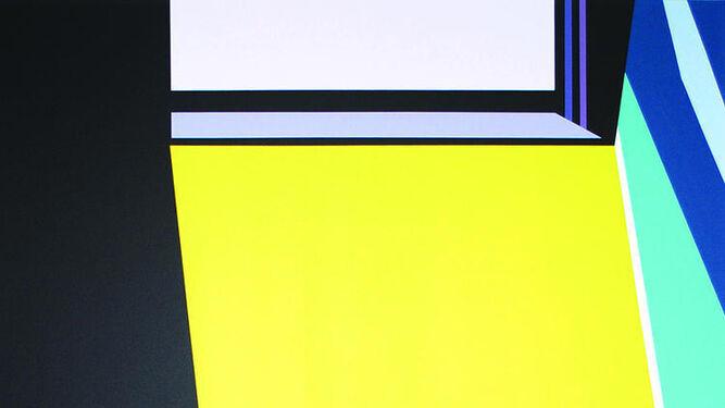 Obras como 'Le Cabanon' y 'Entrada amarillo' indican el interesante camino que ha tomado el artista sevillano Norberto Gil.