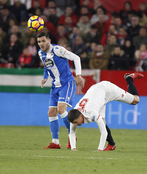 Las imágenes del Sevilla-Deportivo de la Coruña