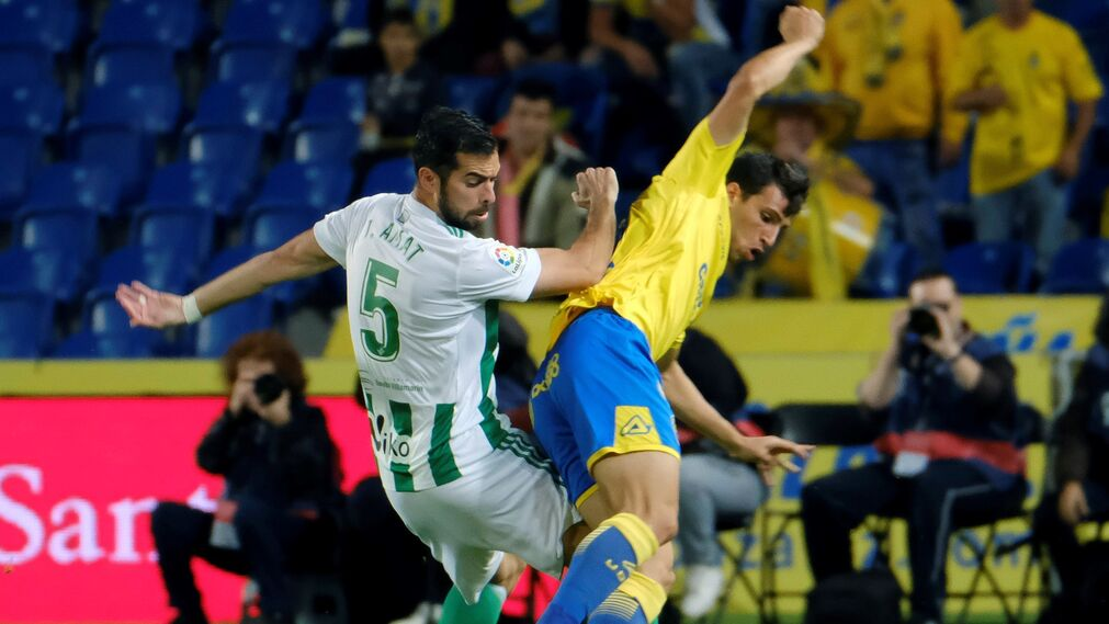 Las imágenes del Las Palmas-Betis
