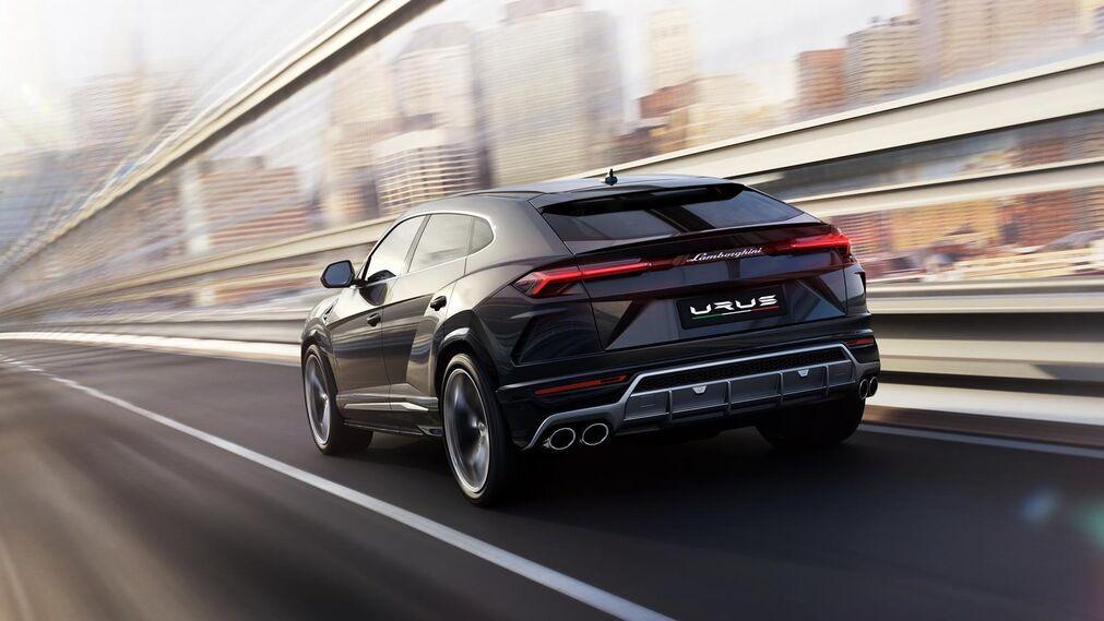 El nuevo Lamborghini Urus en 19 fotos