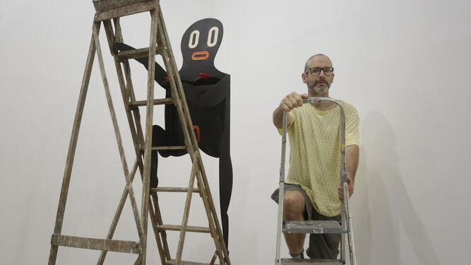 Imagen del local de la galería en Madrid.
