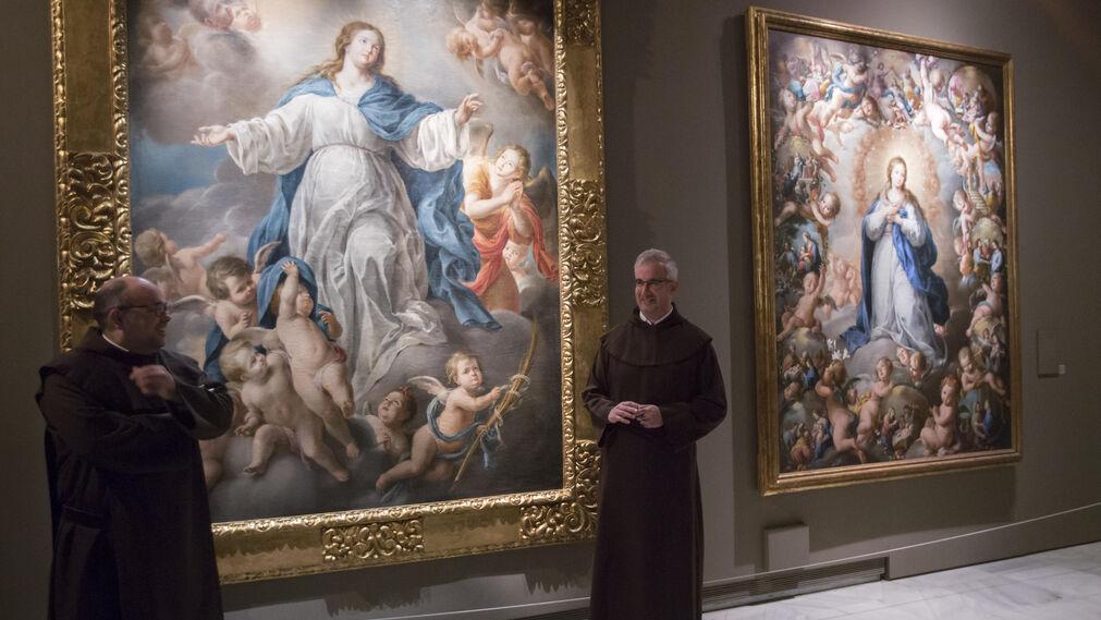 Inauguración de la exposición 'Murillo y su estela en Sevilla'
