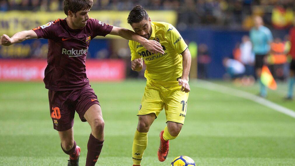 Las imágenes del Villarreal-Barcelona