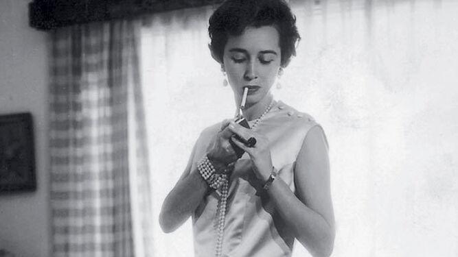 La condesa, en los años 50.