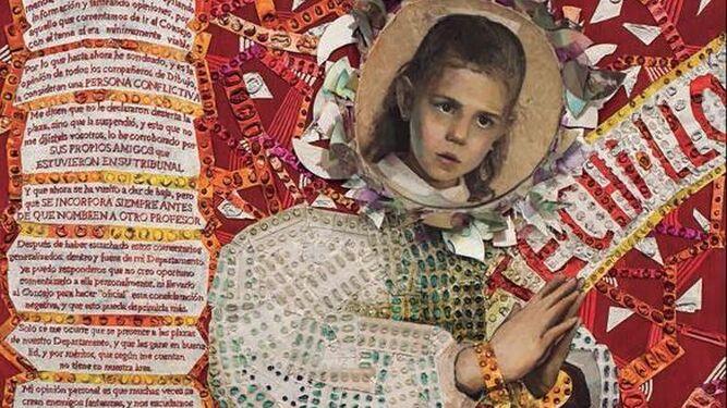 Detalle de 'La Inmaculada de la Arquitectura Patriarcal', de Inmaculada Rodríguez-Cunill.