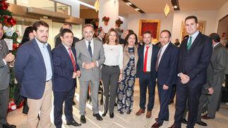 José Alfonso Sánchez, Francisco Reyes, Felipe López, Ana Cobo, Catalina Madueño, Julio Millán, Jacinto Jesús y José Latorre.
