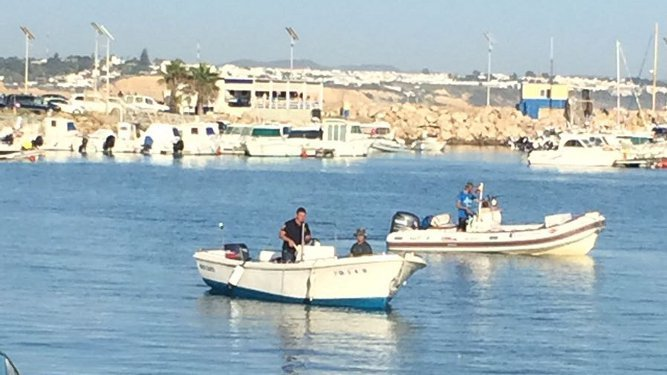 Dos de las embarcaciones intervenidas.