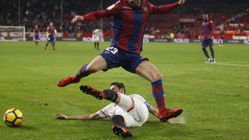 Las imágenes del Sevilla-Levante