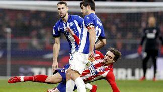 El Atlético de Madrid-Alavés, en imágenes