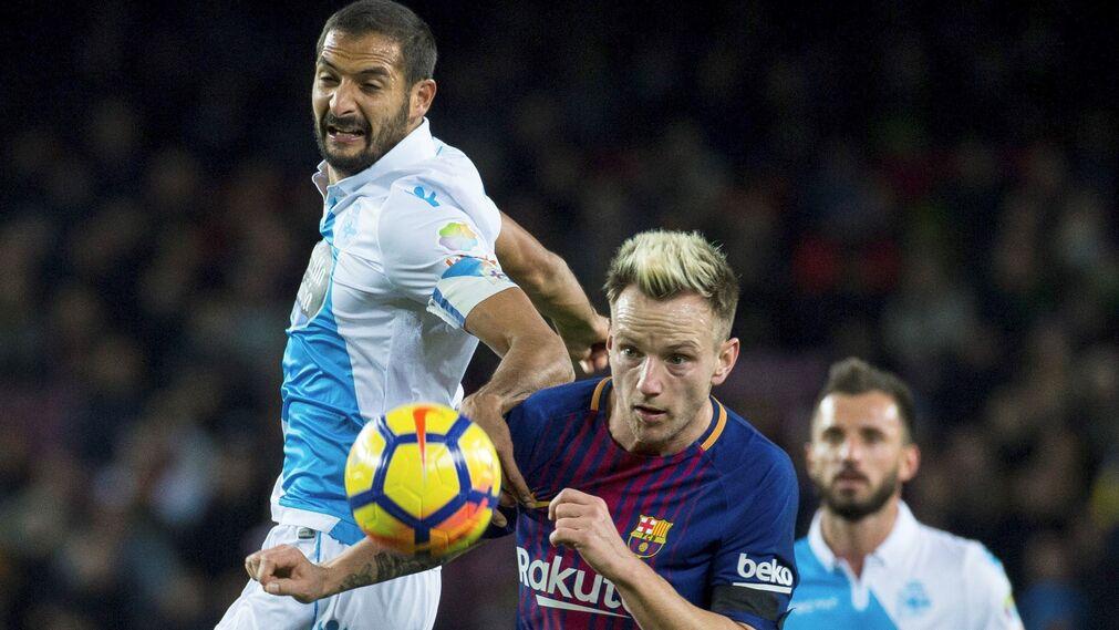 El Barcelona-Deportivo de La Coruña, en imágenes