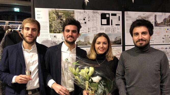 Antonio Torres, Curro Holguín, Paula Manzano y Argimiro Macías.