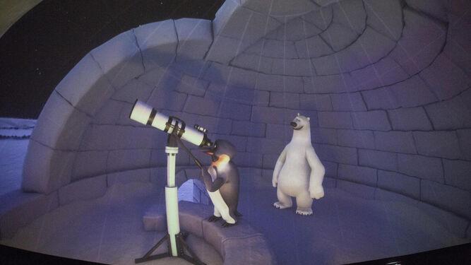 1. 'Polaris' es la nueva proyección infantil que se exhibe en el Planetario. 2. 'El lado oscuro de la luz' es una de las exposiciones que puede visitarse estos días. 3. Entre otras actividades, los talleres familiares completan la agenda navideña.