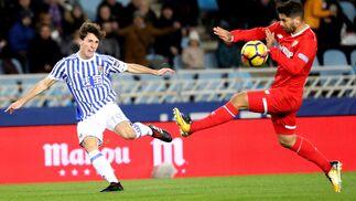 Las imágenes del Real Sociedad-Sevilla