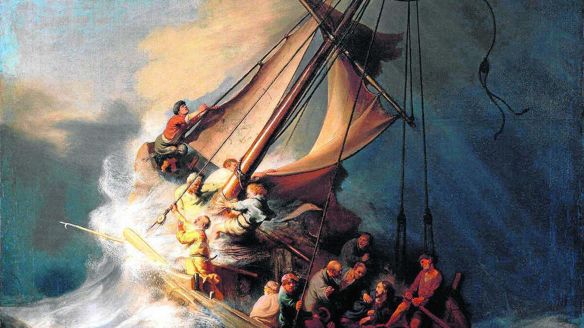 Nadie Habla En Boston De Manet Y De Rembrandt