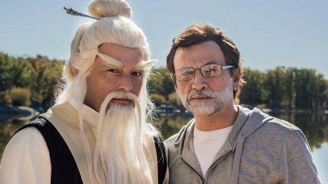 Mota y su personaje favorito: Rajoy.
