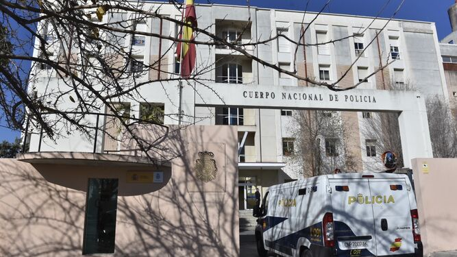 Dependencias policiales de Blas Infante, donde está el detenido.