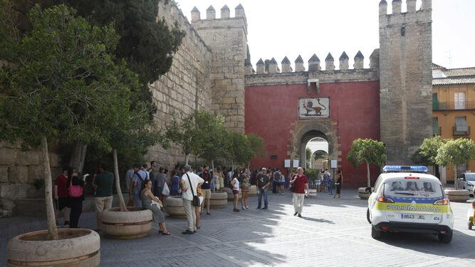 El Alcázar de Sevilla es uno de los monumentos más visitados de la ciudad.
