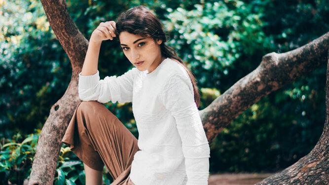 La modelo Esther Rodríguez ha protagonizado bastantes editoriales de moda.