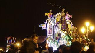 La Cabalgata de Reyes recorre Sevilla