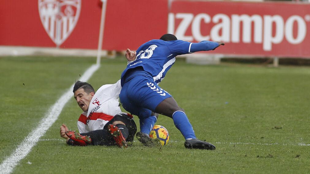 Las imágenes del Sevilla Atlético-Lorca