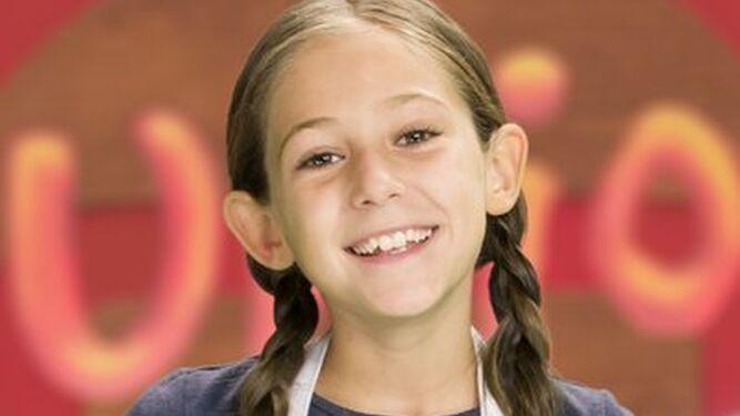 María, 9 años. Madrid.