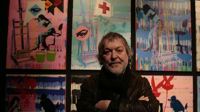 El artista Manolo Cuervo.