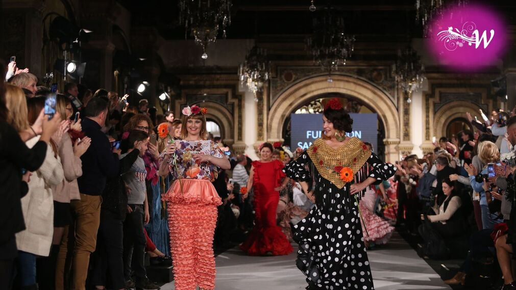 We Love Flamenco 2018- Desfile Fundación Sandra Ibarra