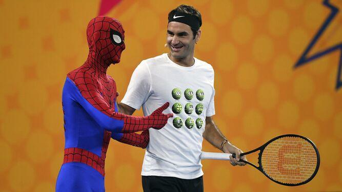 Yerri Mina, a conquistar la hierba Federer vs Spiderman, el duelo estelarMarc Gasol se eleva... para después caer