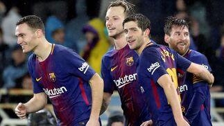Las imágenes del Real Sociedad-Barcelona