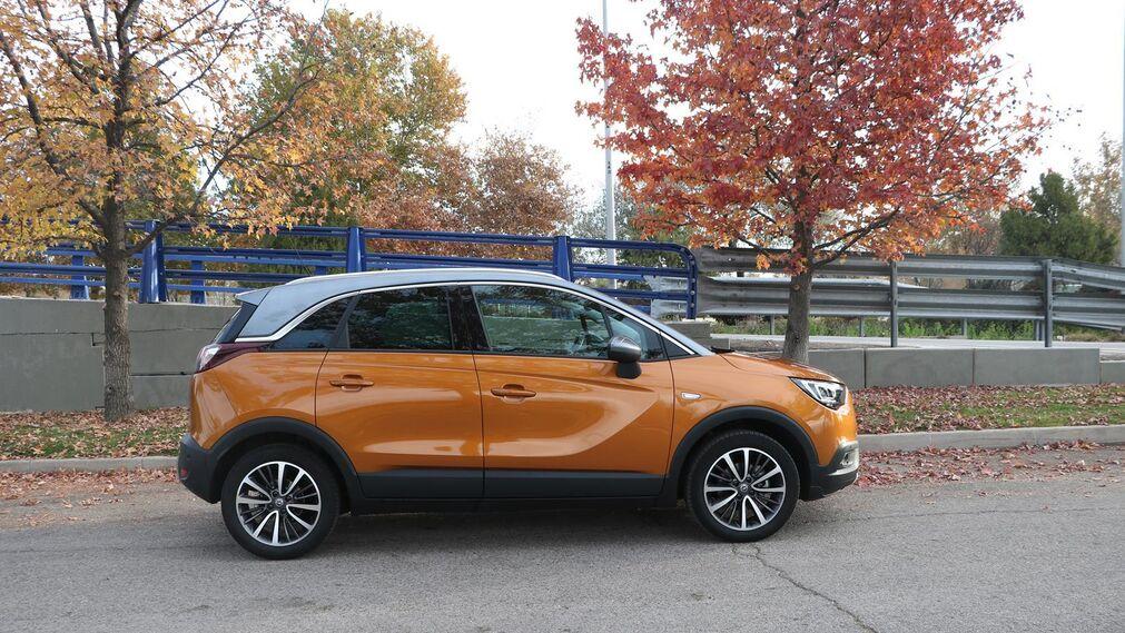 La prueba del Opel Crossland X, foto a foto