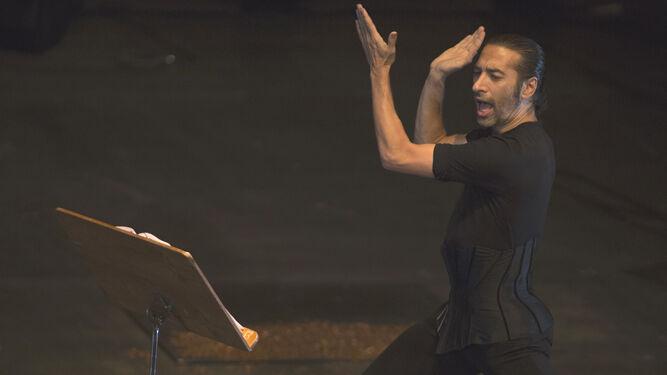 Israel Galván, durante una actuación.