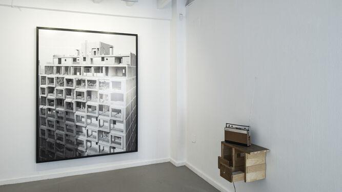 En las imágenes, algunas de las obras del artista que se pueden ver estos días en la galería Alarcón Criado.