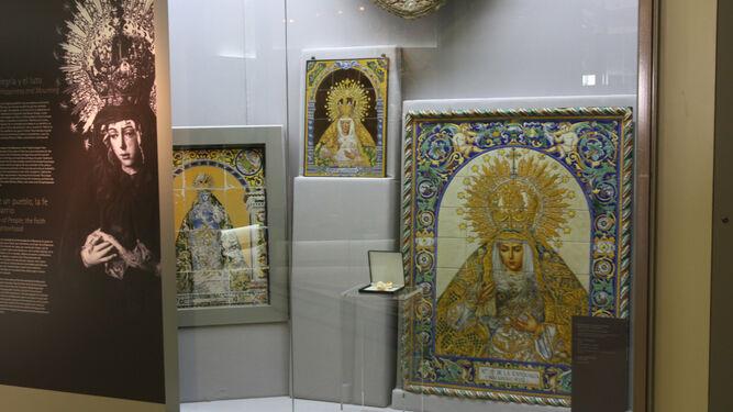 Azulejos de la Virgen, en una de las estancias del museo