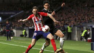 Las imágenes del Atlético de Madrid-Sevilla