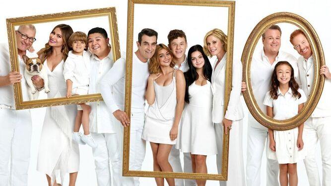 'Modern Family', la segunda de la lista española.