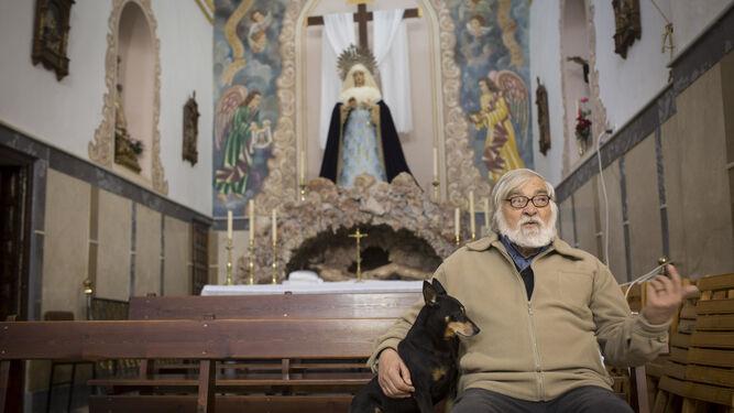 Enrique Priego, párroco