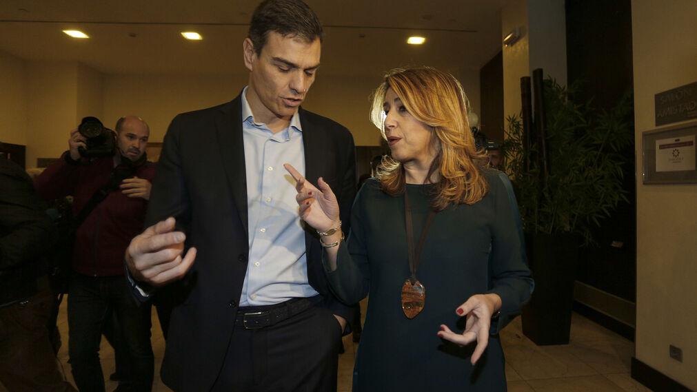 Sánchez con Díaz