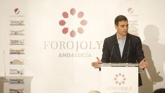 Sánchez, en el Foro Joly