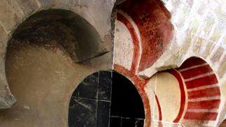 Trabajos de restauración en la Catedral.