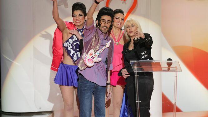 Chikilicuatre en la gala de 2008.