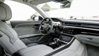 Así es la berlina de representación Audi A8 2018