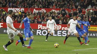 El Sevilla-Getafe en imágenes
